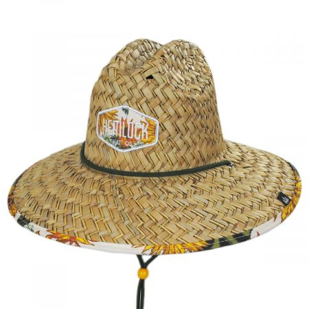 STRAW MESH METAL EAGLE FAUX LEATHER BALL CAP HAT TAN NEW