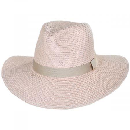 Summer Toyo Straw Fedora Hat