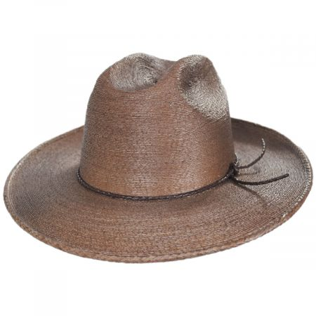 Brixton Hats Vasquez Mexican Palm Straw Cowboy Hat