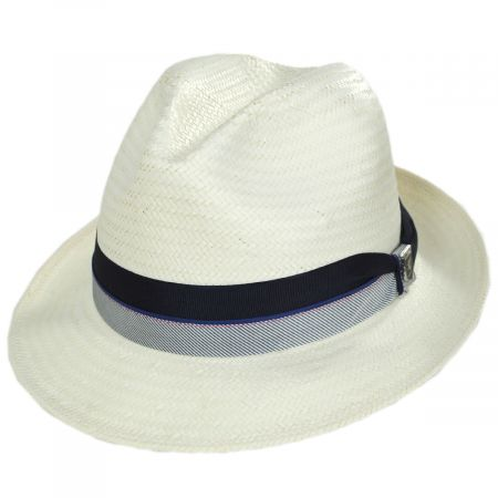 Stacy Adams Brunswick Toyo Straw Fedora Hat