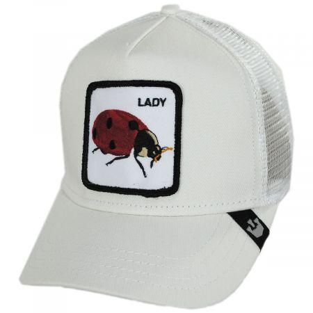 Ladybug Trucker Snapback Baseball Cap