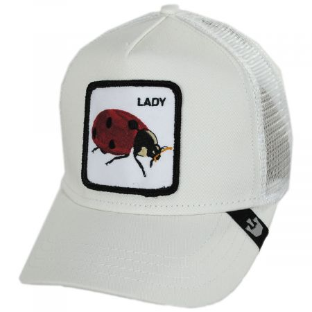 Goorin Bros Ladybug Trucker Snapback Baseball Cap