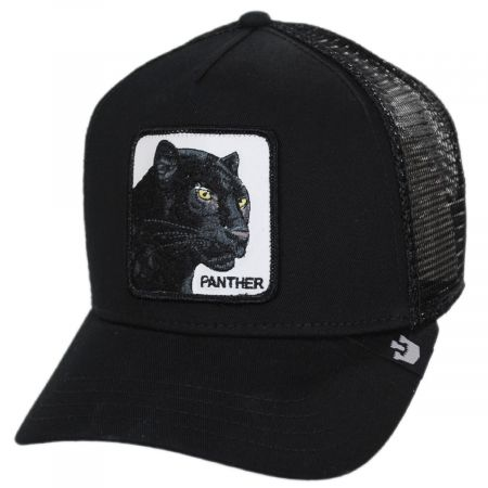 Black Panther Trucker Snapback Baseball Cap