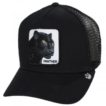 Goorin Bros Black Panther Trucker Snapback Baseball Cap