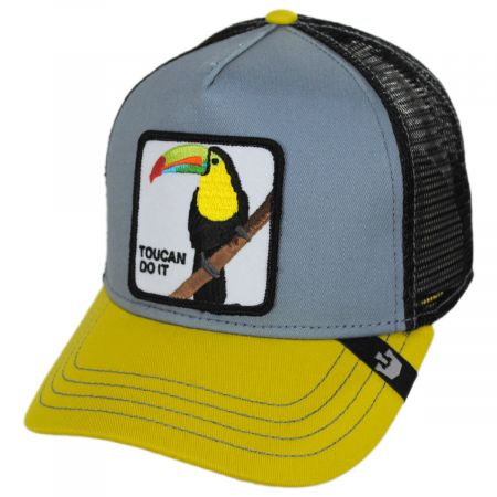 Goorin Bros Toucan Trucker Snapback Baseball Cap