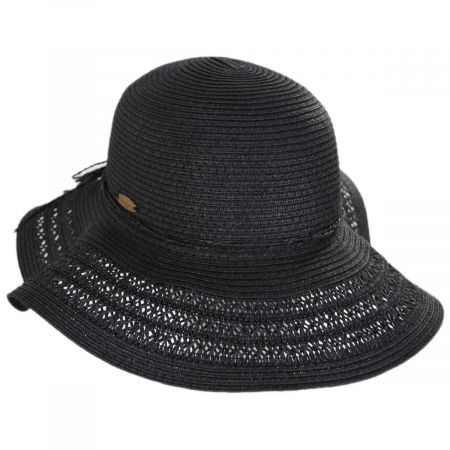 Vent Brim Toyo Straw Swinger Sun Hat