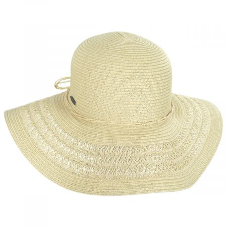 Vent Brim Toyo Straw Swinger Sun Hat alternate view 5