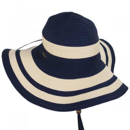 Ribbon and Toyo Straw Swinger Sun Hat