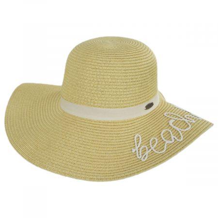 Beach Please Toyo Straw Swinger Sun Hat