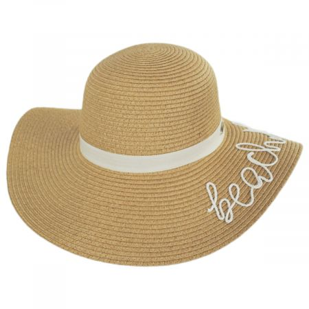 Beach Please Toyo Straw Swinger Sun Hat alternate view 9