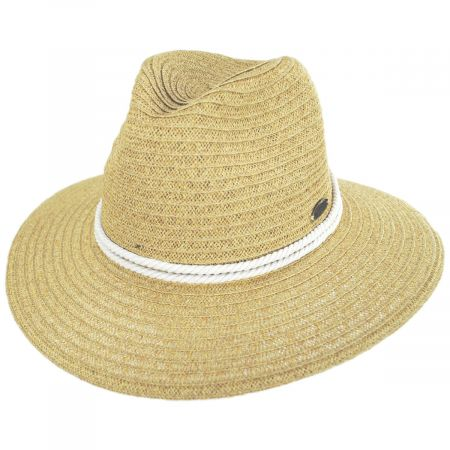 Costa Nova Toyo Straw Safari Fedora Hat alternate view 9