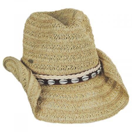 Scala Barese Toyo Straw Western Hat