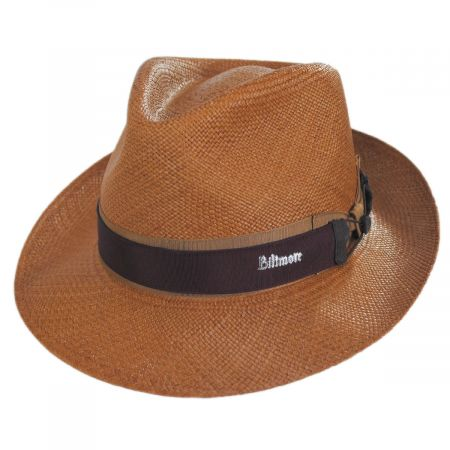 Cassatt Reversible Band Grade 8 Panama Straw Fedora Hat alternate view 7