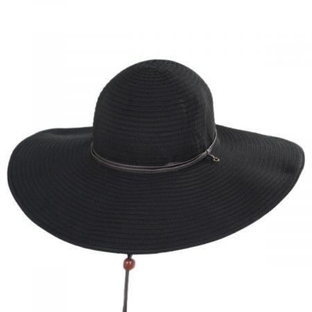 Scala Cancio Ribbon Swinger Sun Hat