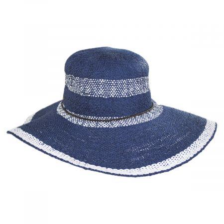 Scala Vecchia Toyo Straw Swinger Sun Hat