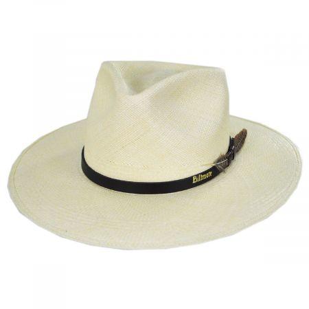 Klee Grade 8 Panama Straw Fedora Hat alternate view 9