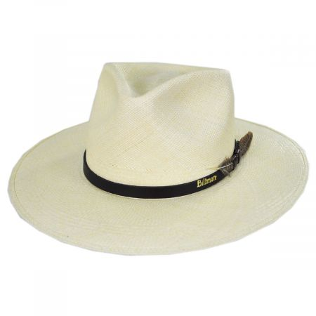 Klee Grade 8 Panama Straw Fedora Hat alternate view 9