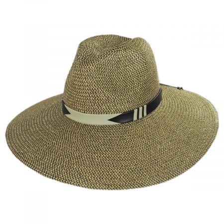 Nikki Beach Kamari Toyo Straw Rancher Hat
