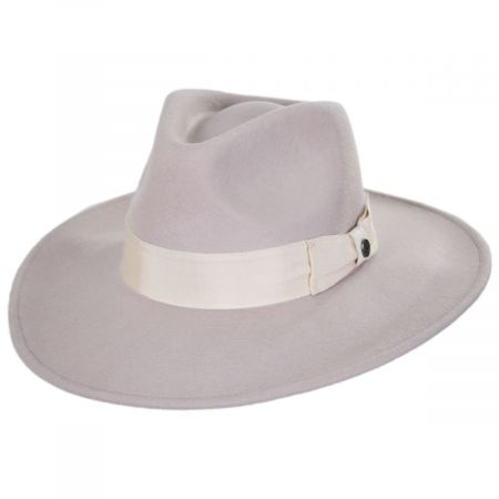 Colorado Ultra Wide Brim Wool Felt Fedora Hat alternate view 22