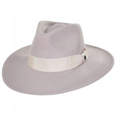 Colorado Ultra Wide Brim Wool Felt Fedora Hat alternate view 28