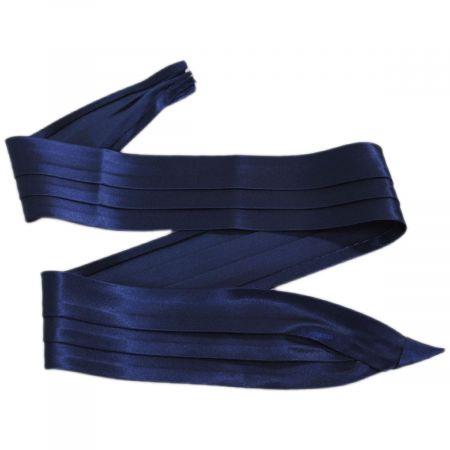 Capas Headwear 3-Pleat Satin Hat/Pug Band