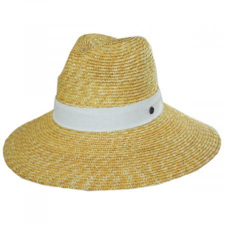 Sasa Milan Straw Fedora Hat alternate view 6