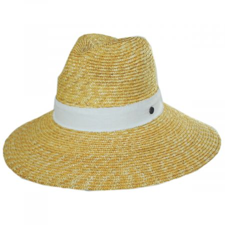 Smithsonian Sasa Milan Straw Fedora Hat