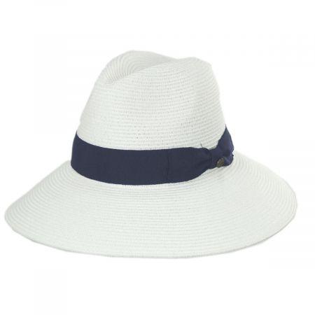 Smithsonian Granada Toyo Straw Fedora Hat