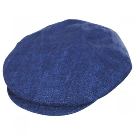Mattia Denim Blue Linen Ivy Cap alternate view 5