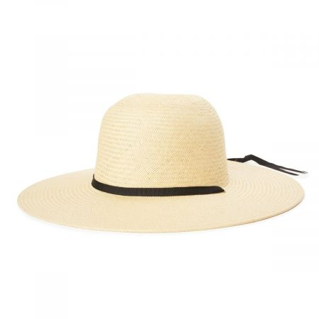 Frances Toyo Straw Sun Hat