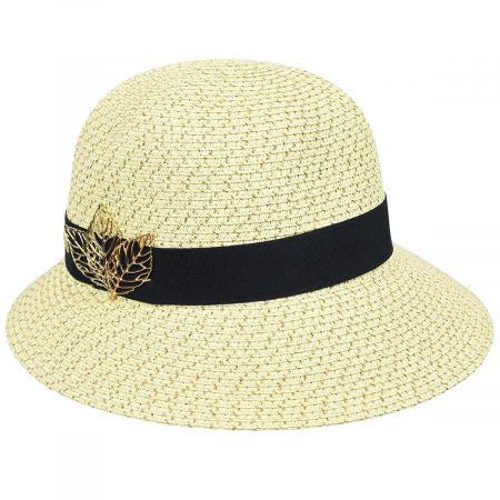 Betmar Franoise Toyo Braid Cloche Hat