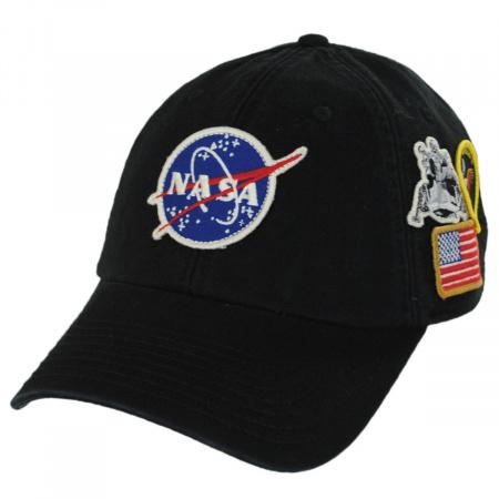 NASA Foley Strapback Baseball Cap Dad Hat