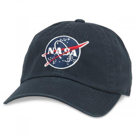NASA Ballpark Strapback Baseball Cap Dad Hat alternate view 2