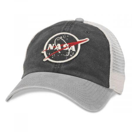 NASA Hanover Trucker Strapback Baseball Cap Dad Hat