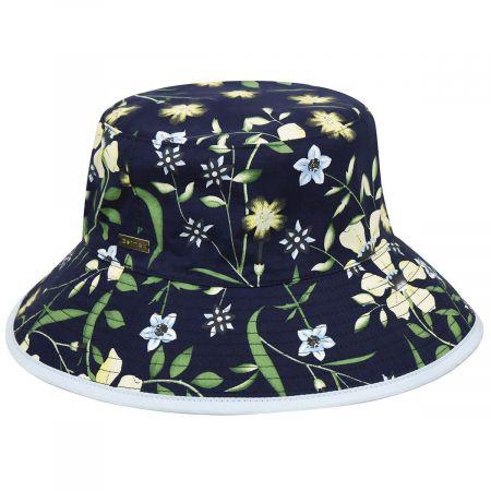 Betmar Florence Reversible Cotton Bucket Hat