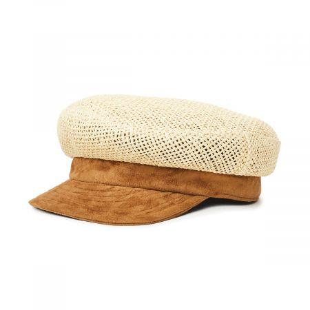 Brixton Hats Toyo Straw Fiddler Cap