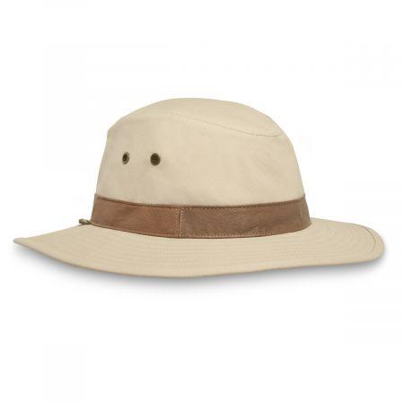 Lookout Tech Canvas Safari Fedora Hat