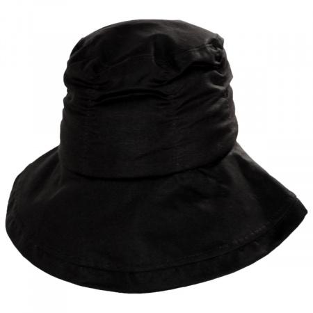 Stefeno Drizzle British Millerain Waxed Cotton Crushable Rain Hat