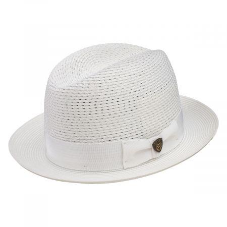 Madison Milan Straw Fedora Hat alternate view 3