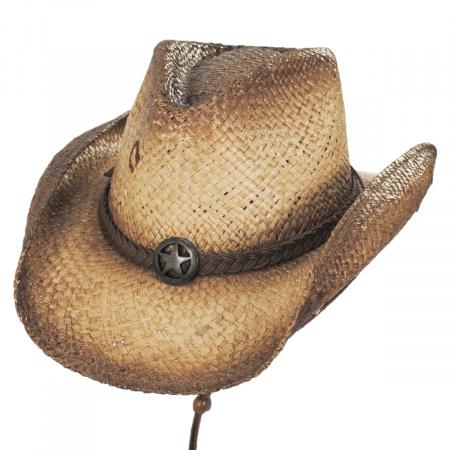 Lone Ranger Raffia Straw Western Hat alternate view 5