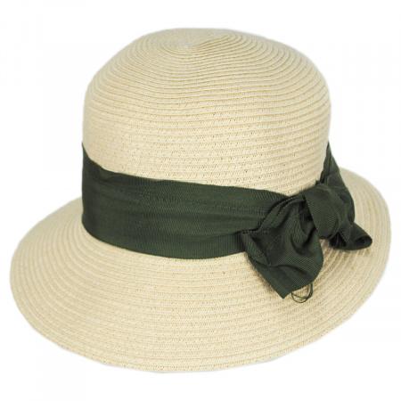 Spectator Toyo Straw Blend Cloche Hat alternate view 5