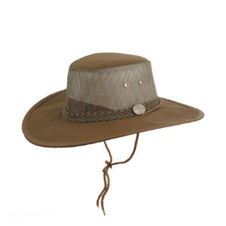 Barmah Canvas Cooler Survivor Hat
