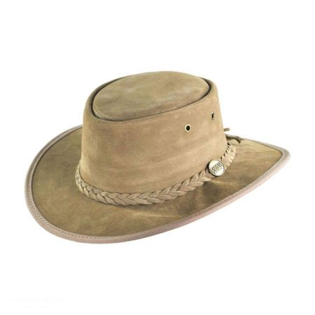 Barmah Foldaway Pig Suede Hat