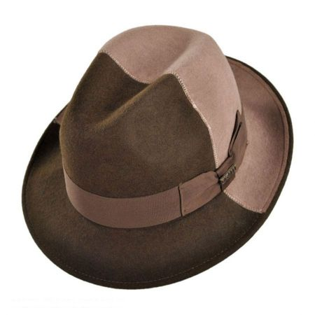 Bigalli California Center Dent Fedora Hat