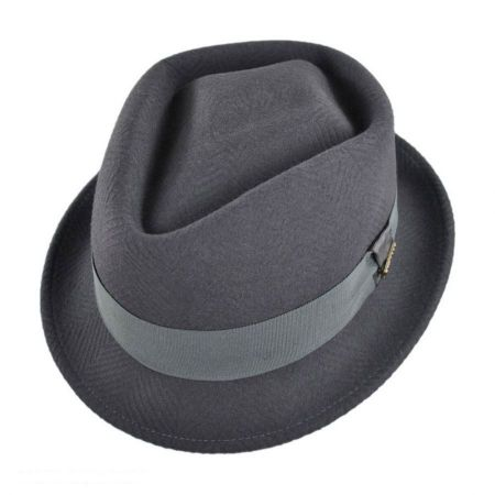 Bigalli Diamond Tilth Fedora Hat