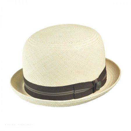 Bigalli Panama Straw Derby Hat