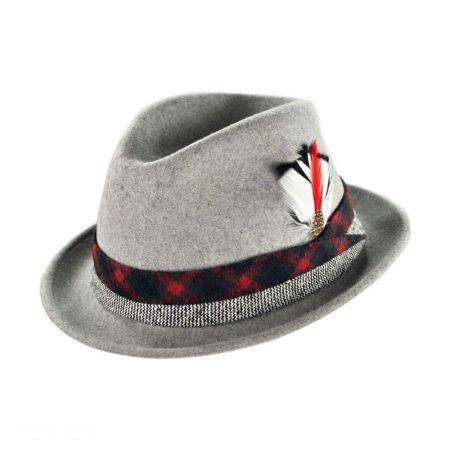Bigalli San Marino Stingy Brim Fedora Hat