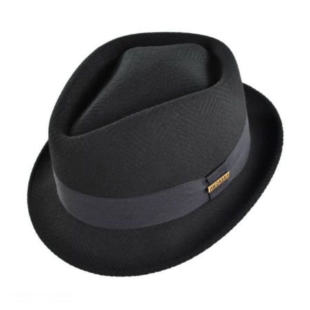 Bigalli Tilth Diamond Crown Fedora Hat