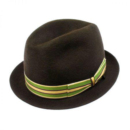 Borsalino Luca Fedora Hat