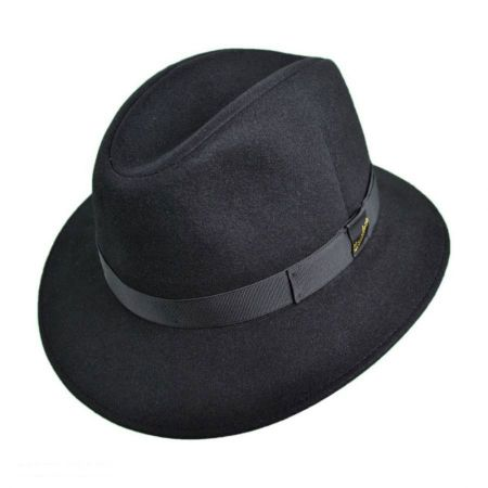 Borsalino Packable Trilby Fedora Hat